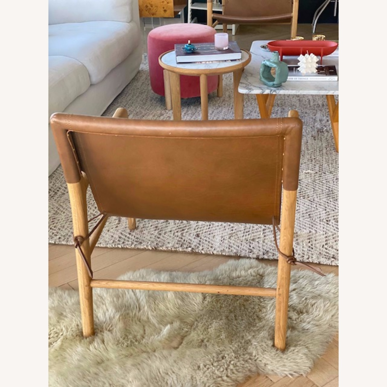 Barnaby Lane Smith Leather Chair - image-2