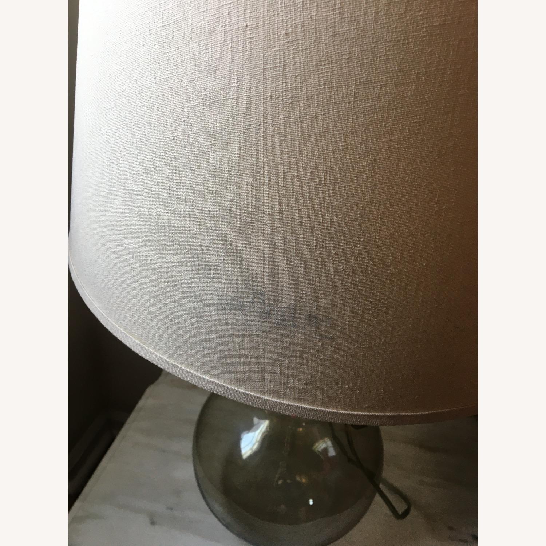 Vintage Modern Glass Table Lamp - image-1