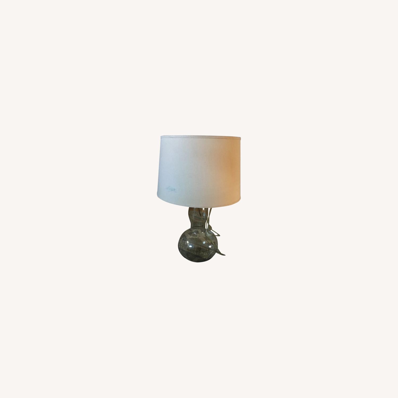 Vintage Modern Glass Table Lamp - image-0