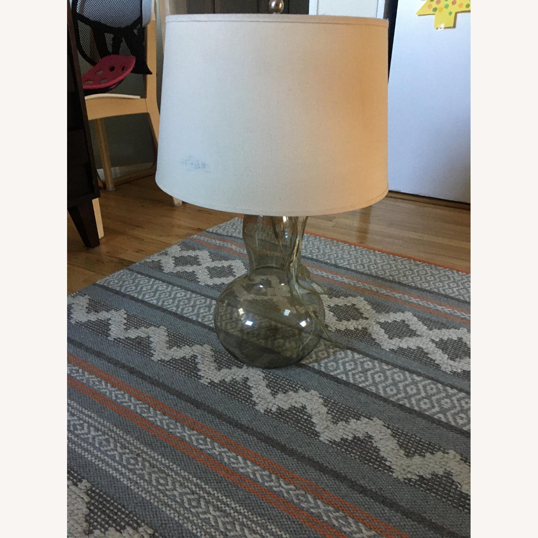 Vintage Modern Glass Table Lamp - image-3