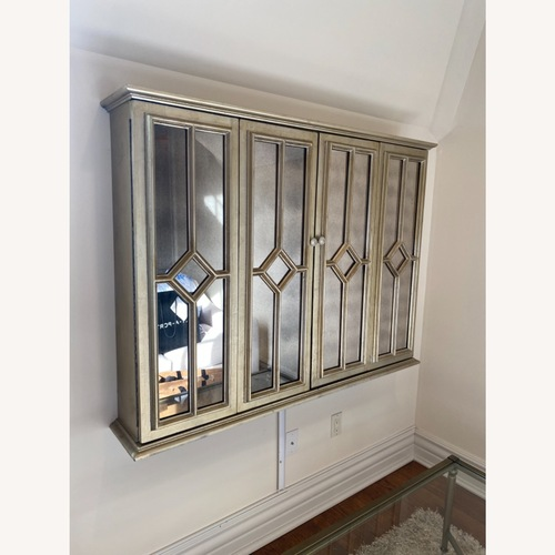 Used Mirrored Tv Cabinet Horchow for sale on AptDeco
