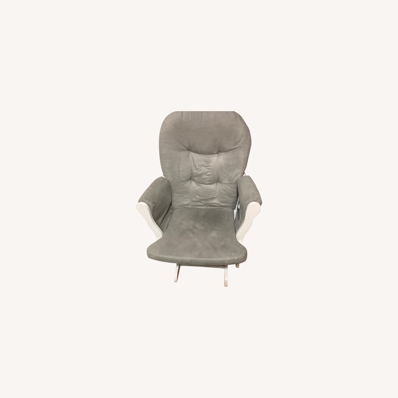 Grey Rocking Chair - image-0