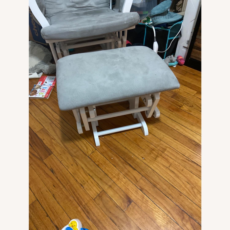 Grey Rocking Chair - image-3