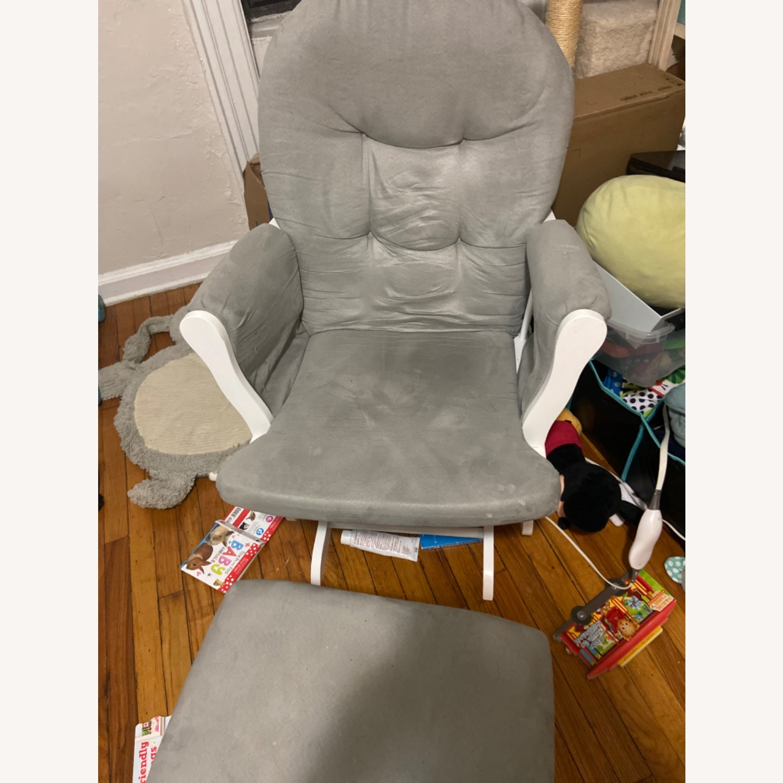 Grey Rocking Chair - image-1