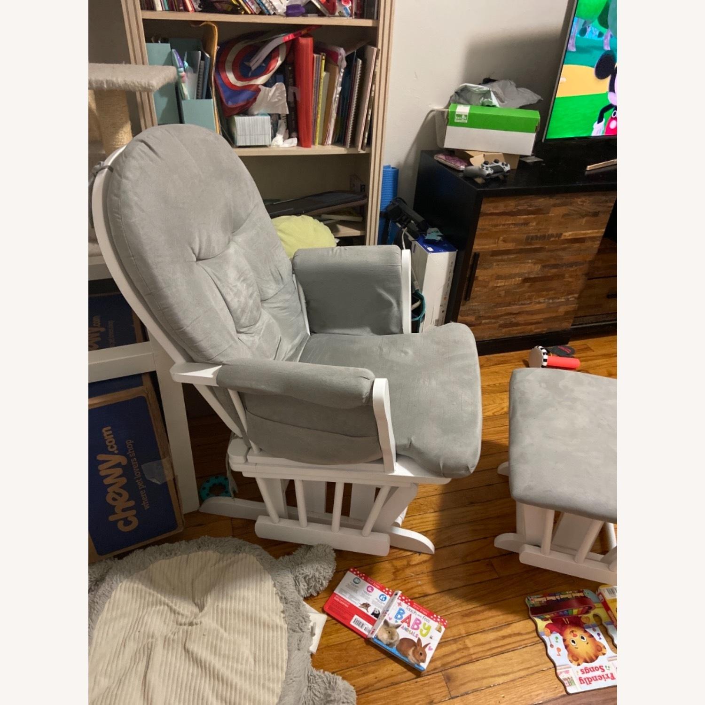 Grey Rocking Chair - image-2