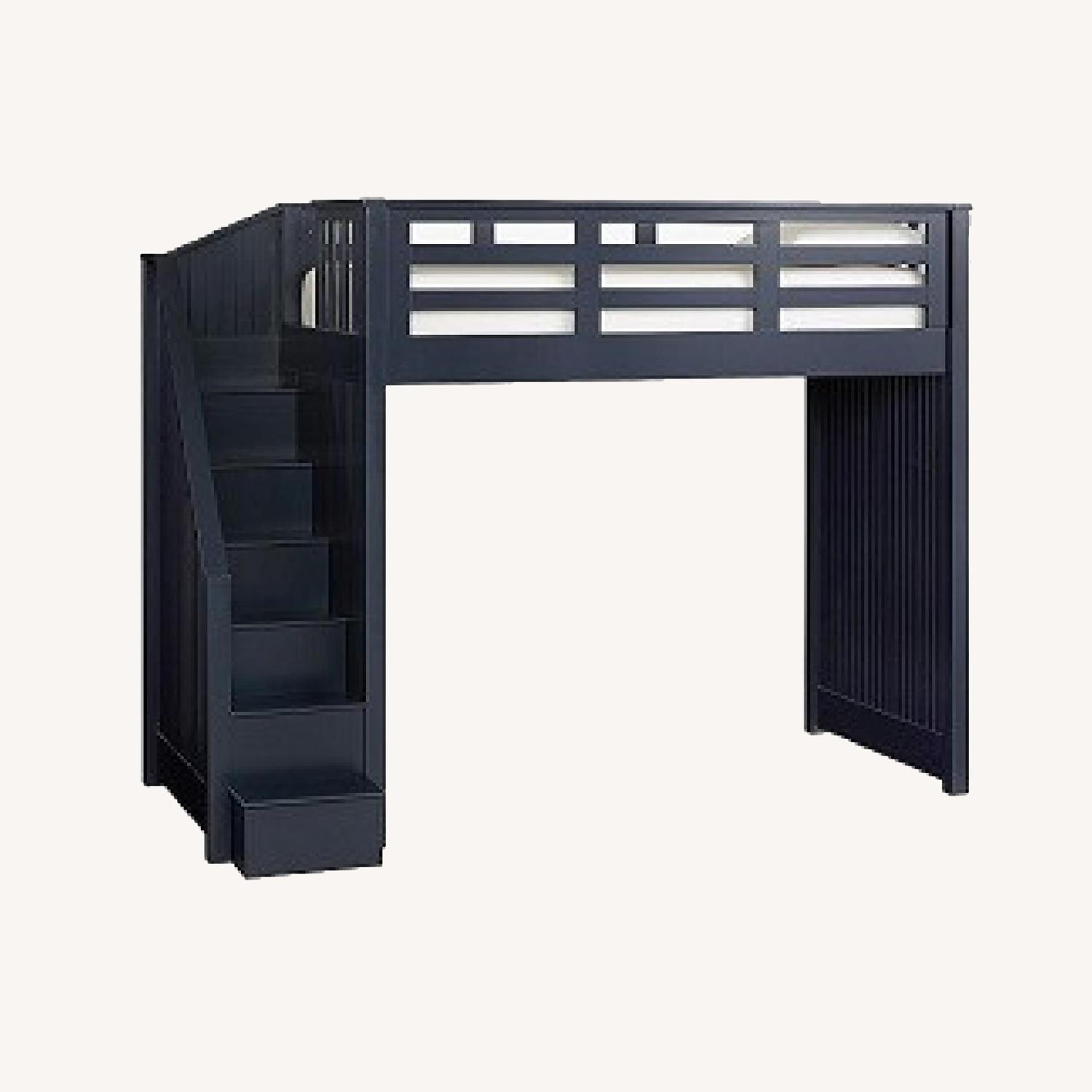 Pottery Barn Catalina Stair Loft Bed - image-0