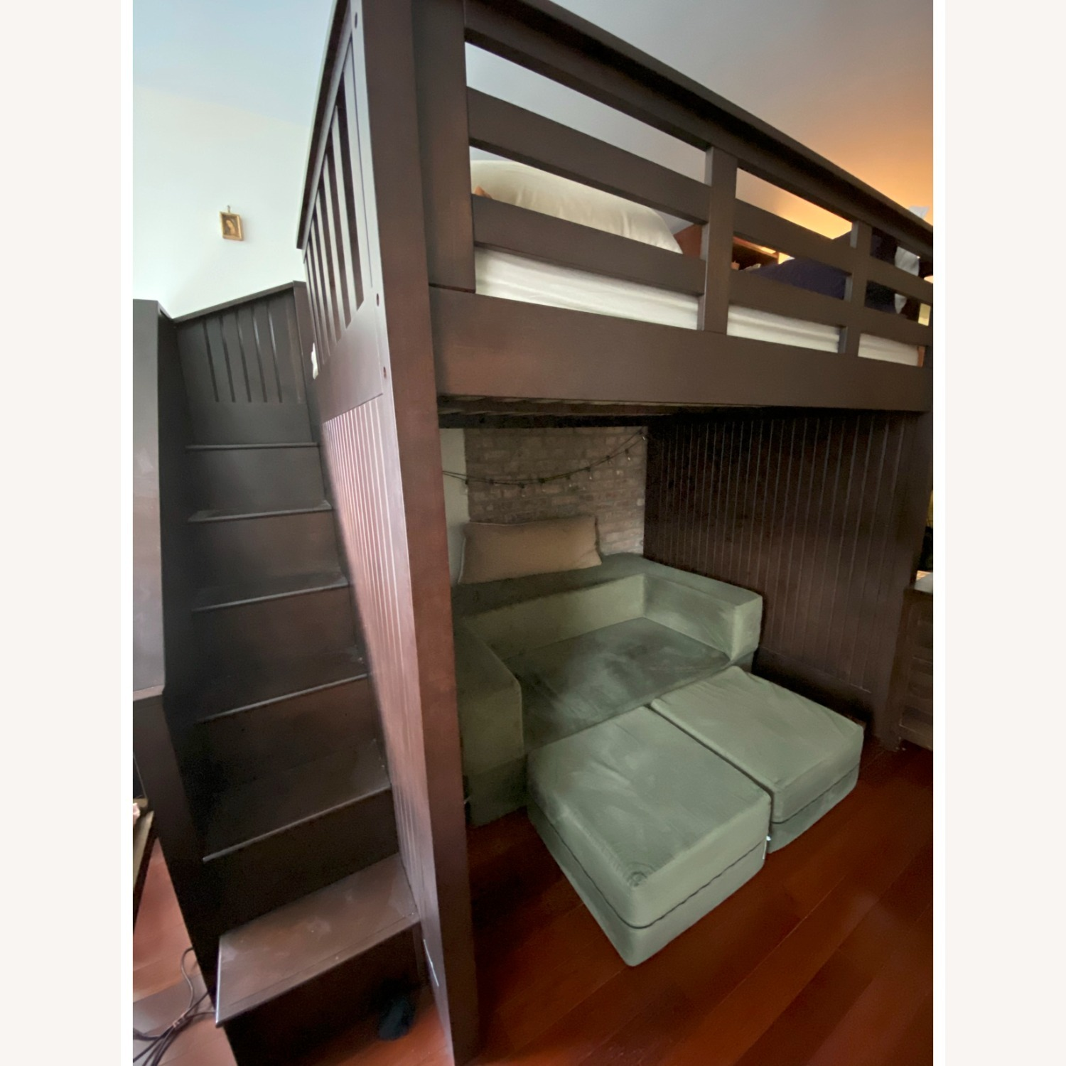 Pottery Barn Catalina Stair Loft Bed - image-1
