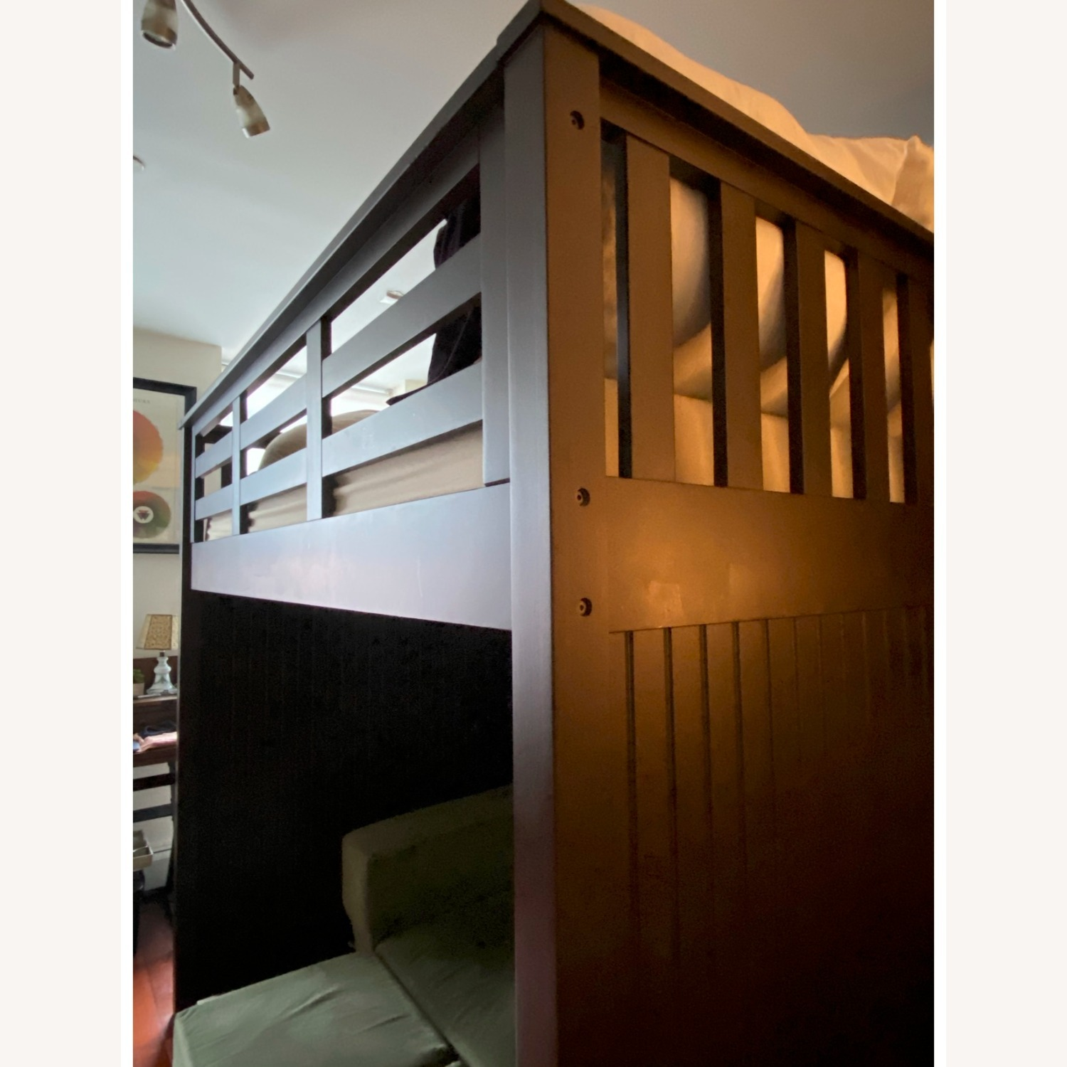 Pottery Barn Catalina Stair Loft Bed - image-3