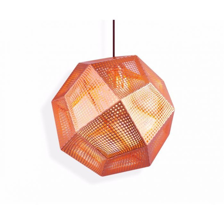 Tom Dixon Etch Pendant Copper - image-0
