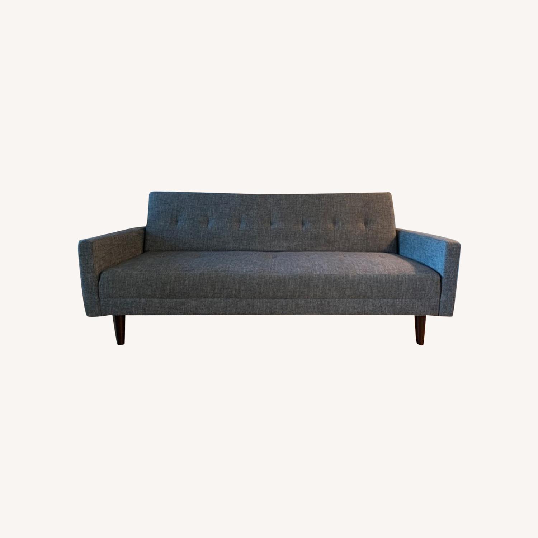 Vitalia Sofa Sleeper in Grey - Contemporary Style - image-0