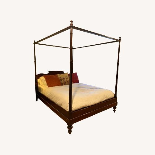 Used Grange Four Poster Bed for sale on AptDeco