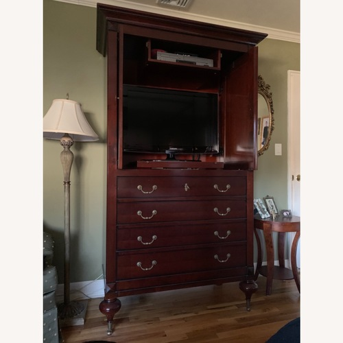 Used Grange Armoire/TV Cabinet for sale on AptDeco