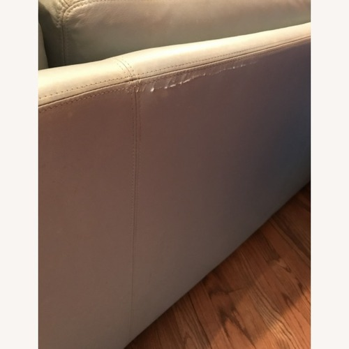 Used Vintage Roche Bobois Leather Sofa for sale on AptDeco