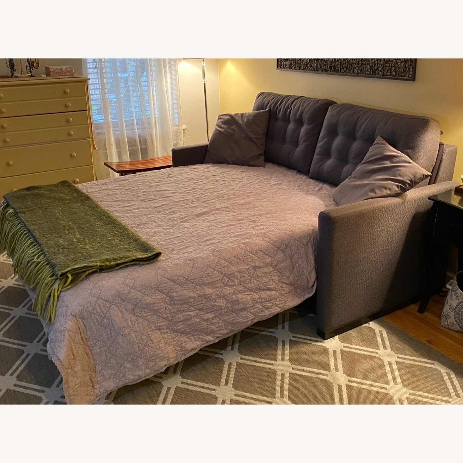 American Leather Queen Size Sleeper-Sofa - image-4
