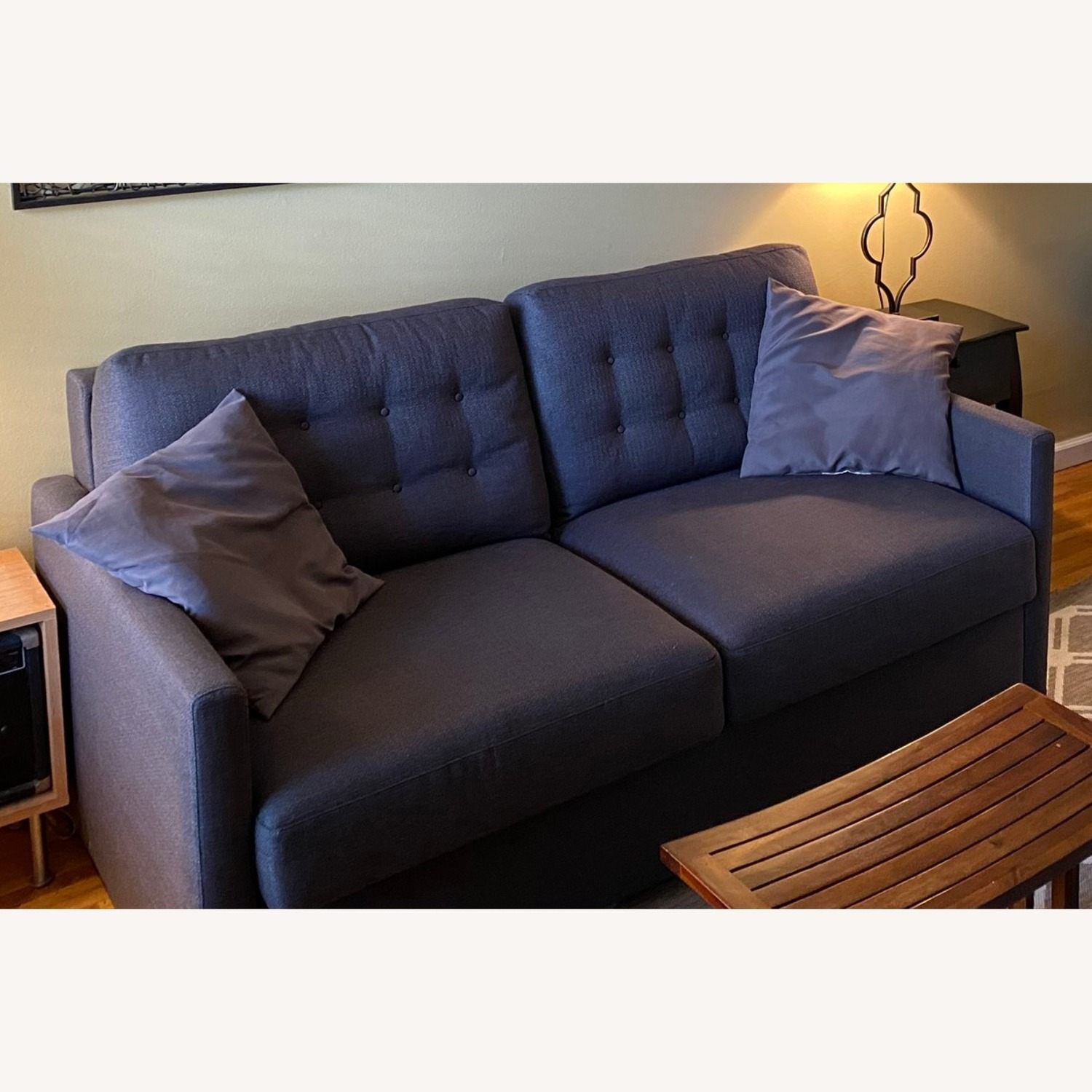 American Leather Queen Size Sleeper-Sofa - image-1