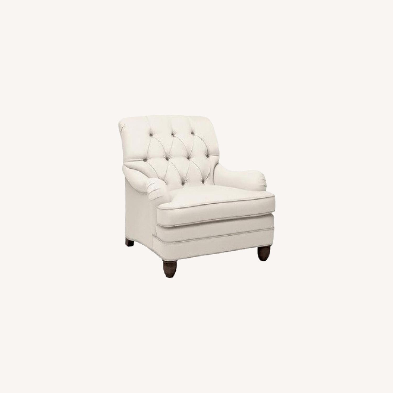 Ethan Allen Mercer Tufted Chair - image-0