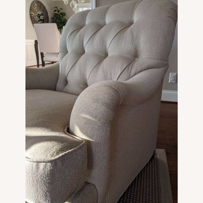 Ethan Allen Mercer Tufted Chair - image-3