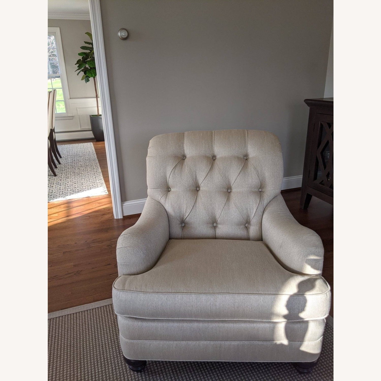 Ethan Allen Mercer Tufted Chair - image-1
