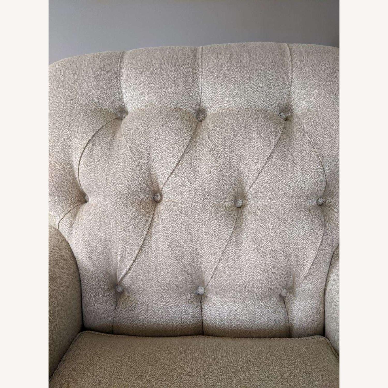 Ethan Allen Mercer Tufted Chair - image-2