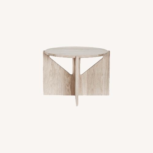 Used Muuto Kristina Dam Table in Oak for sale on AptDeco