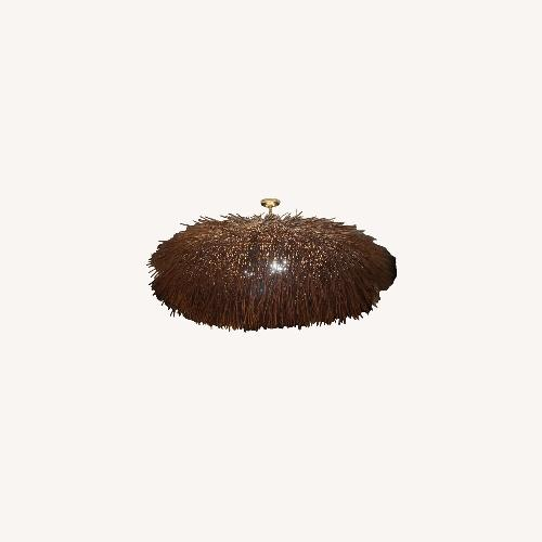 Used 1st Dibs Organic Hand Woven Chandelier for sale on AptDeco