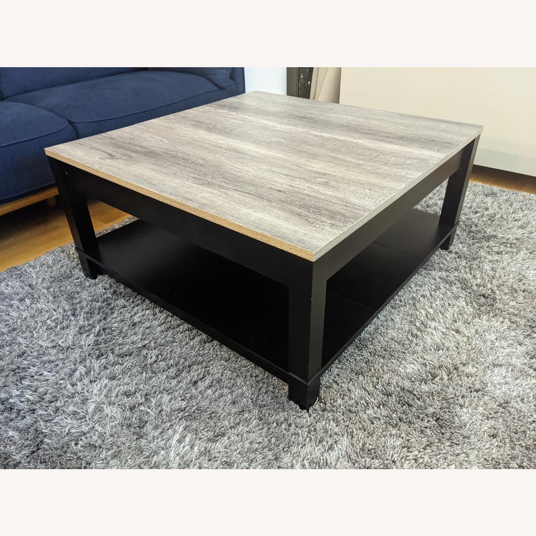 Ameriwood Industries Modern Square Coffee Table Aptdeco