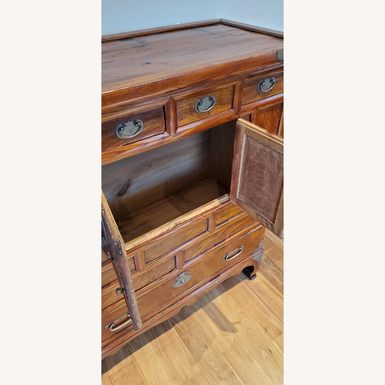 Antique Korean Wooden Cabinet Aptdeco
