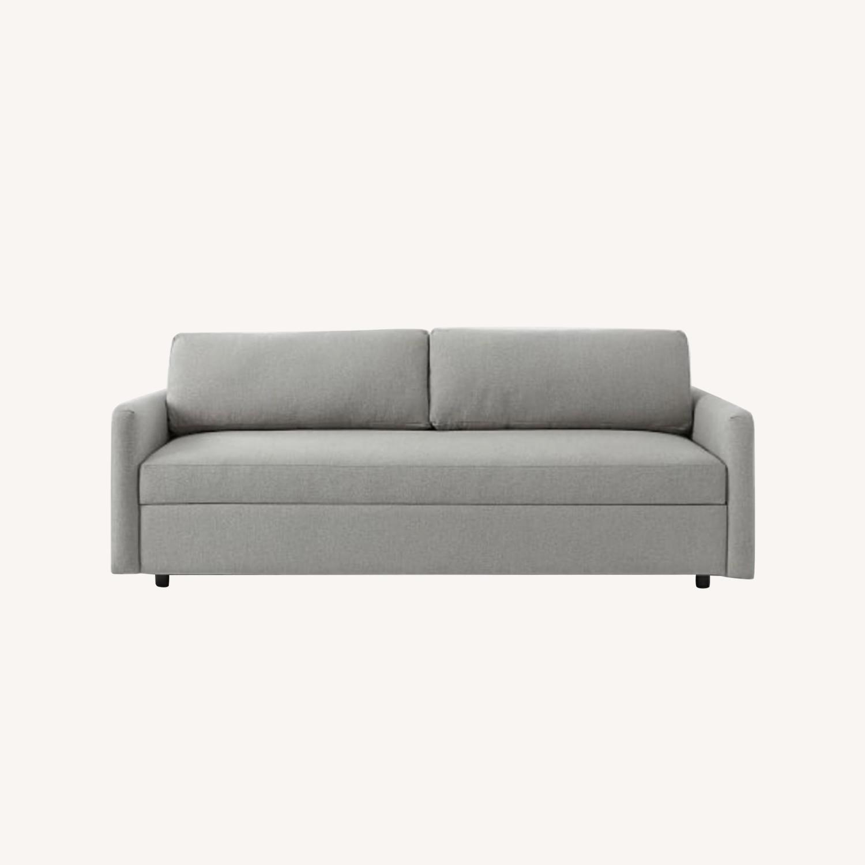 West Elm Clara Sleeper Sofa Without Cushions - image-5
