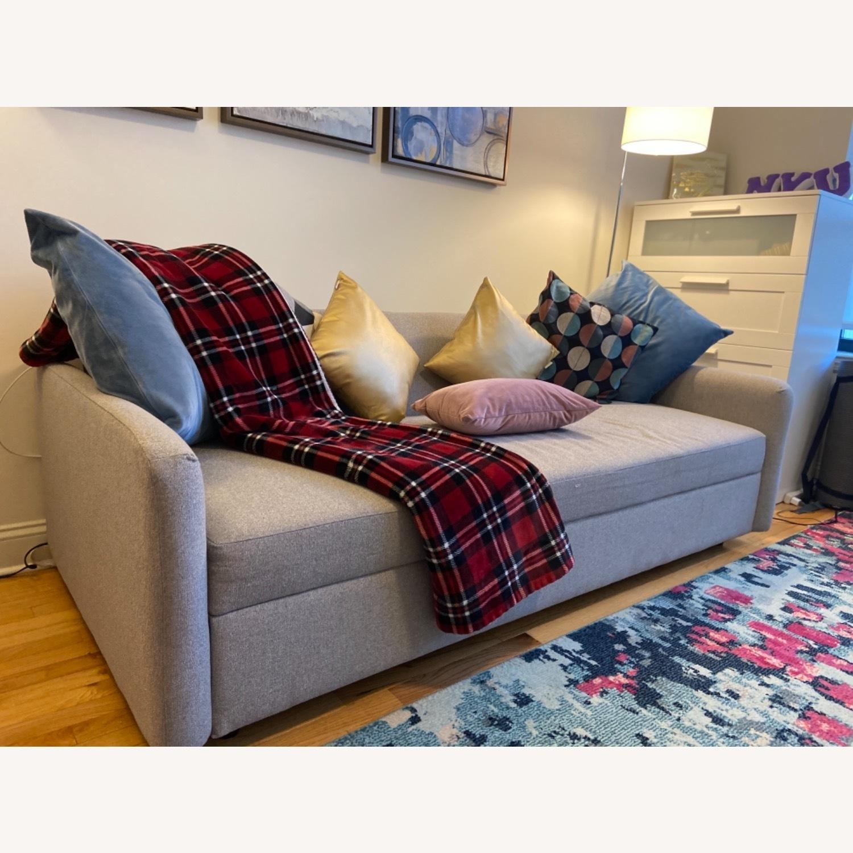 West Elm Clara Sleeper Sofa Without Cushions - image-7