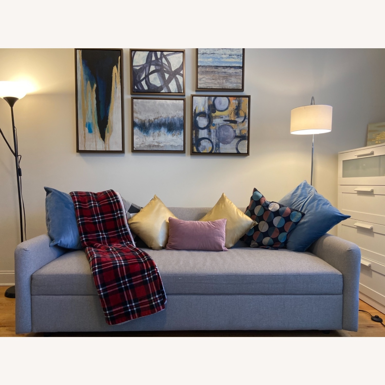 West Elm Clara Sleeper Sofa Without Cushions - image-8
