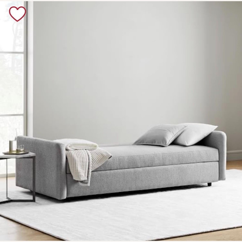 West Elm Clara Sleeper Sofa Without Cushions - image-2