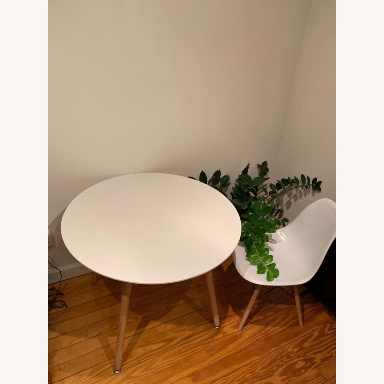Houzz White Round Dining Table Aptdeco