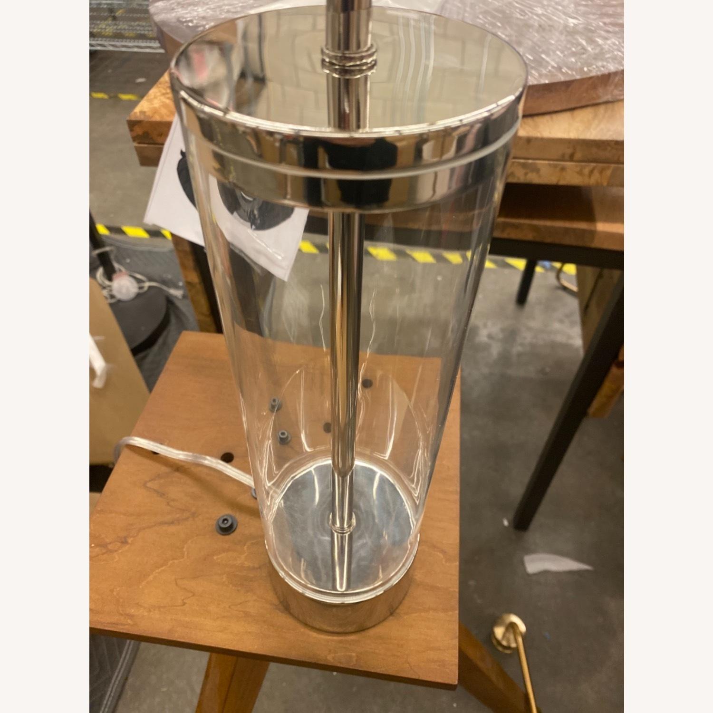 West Elm Acrylic Column Table Lamp - image-3