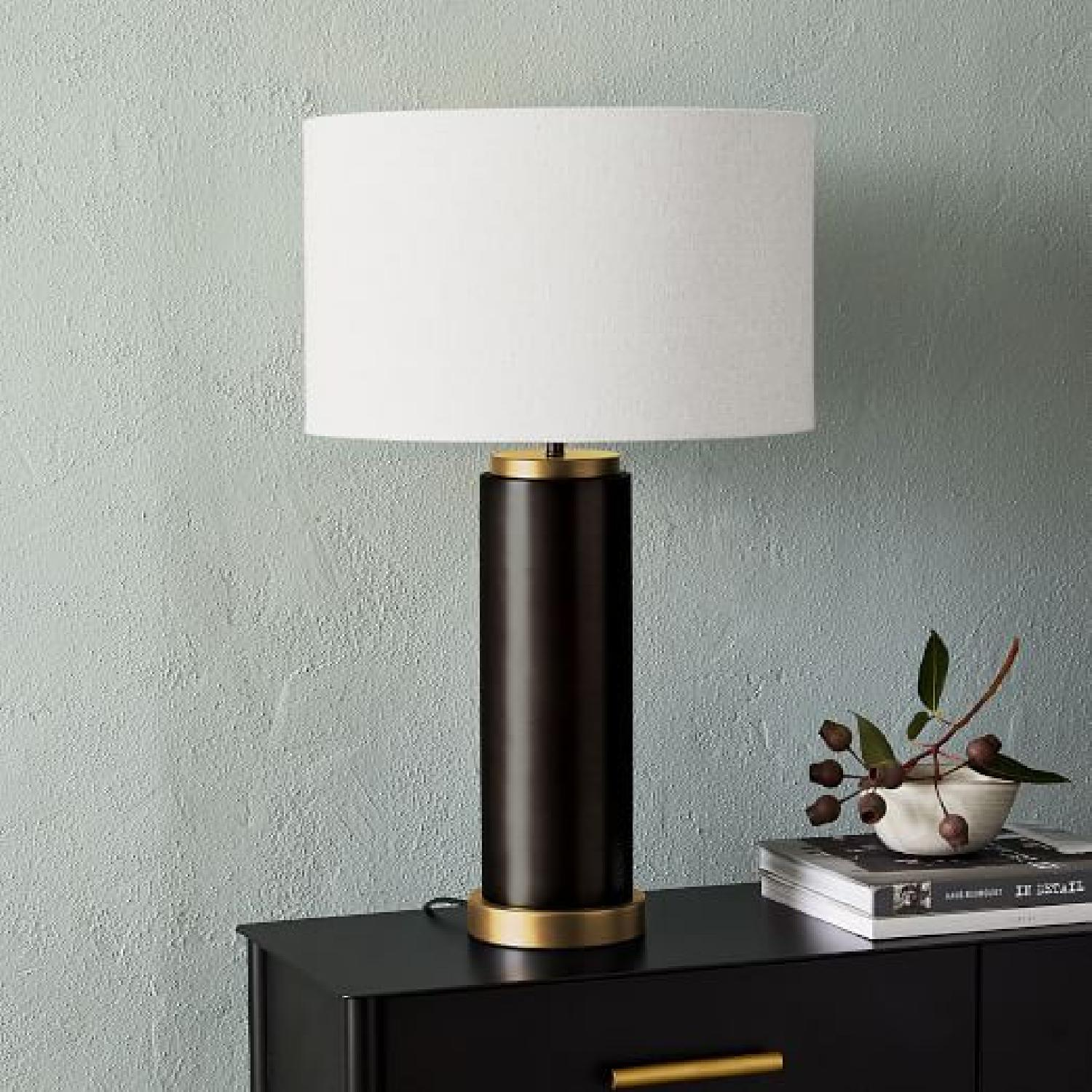 West Elm pillar Usb Table Lamp - image-4