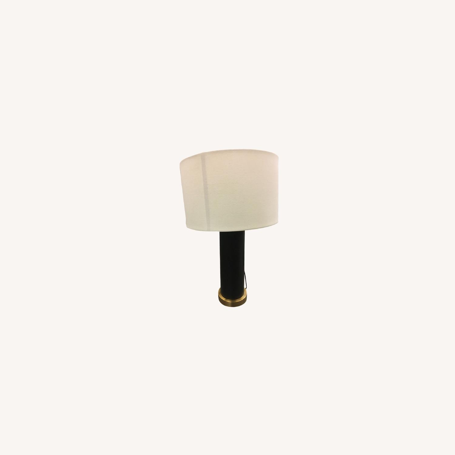 West Elm pillar Usb Table Lamp - image-0