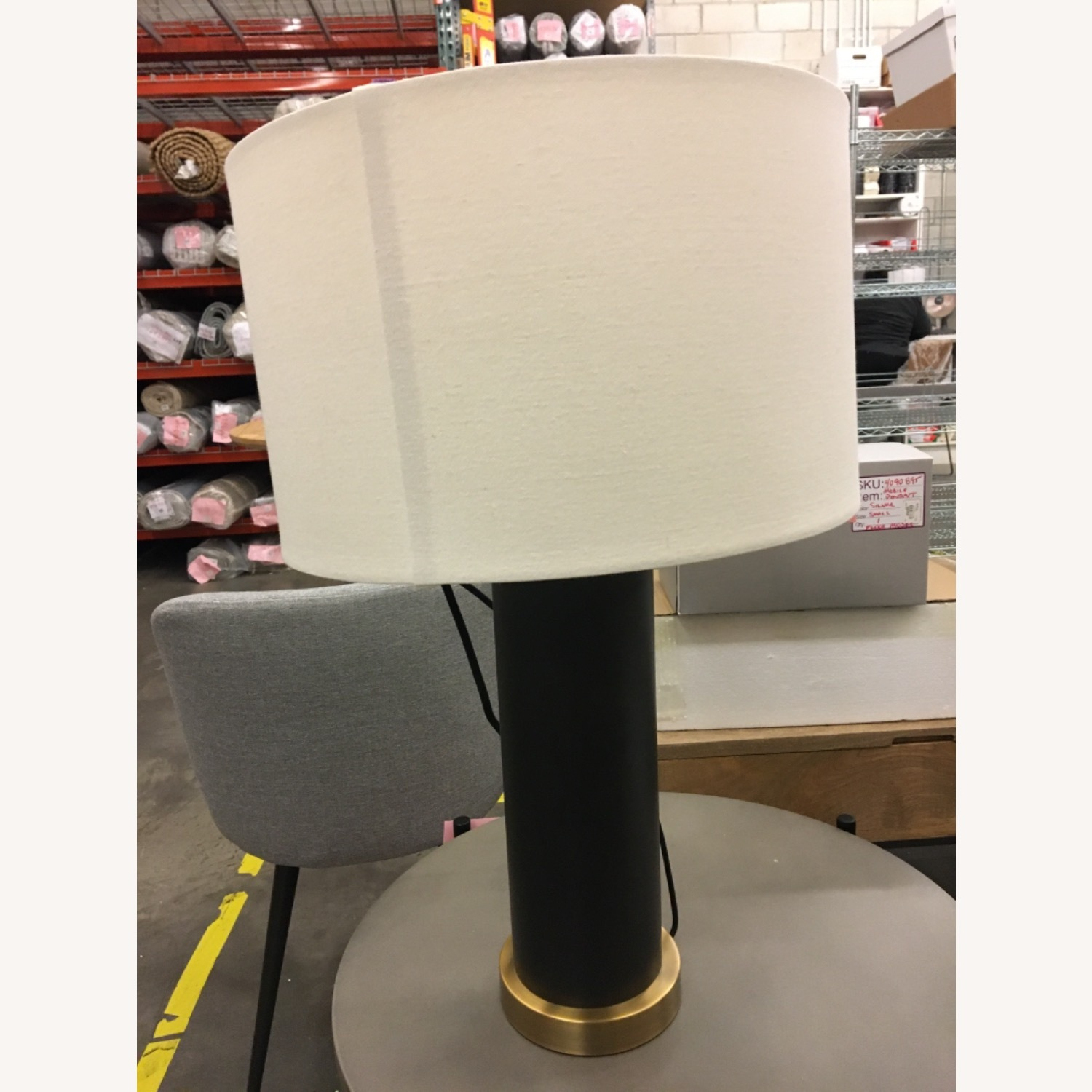 West Elm pillar Usb Table Lamp - image-1