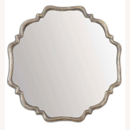 Used Uttermost Silver Mirror for sale on AptDeco