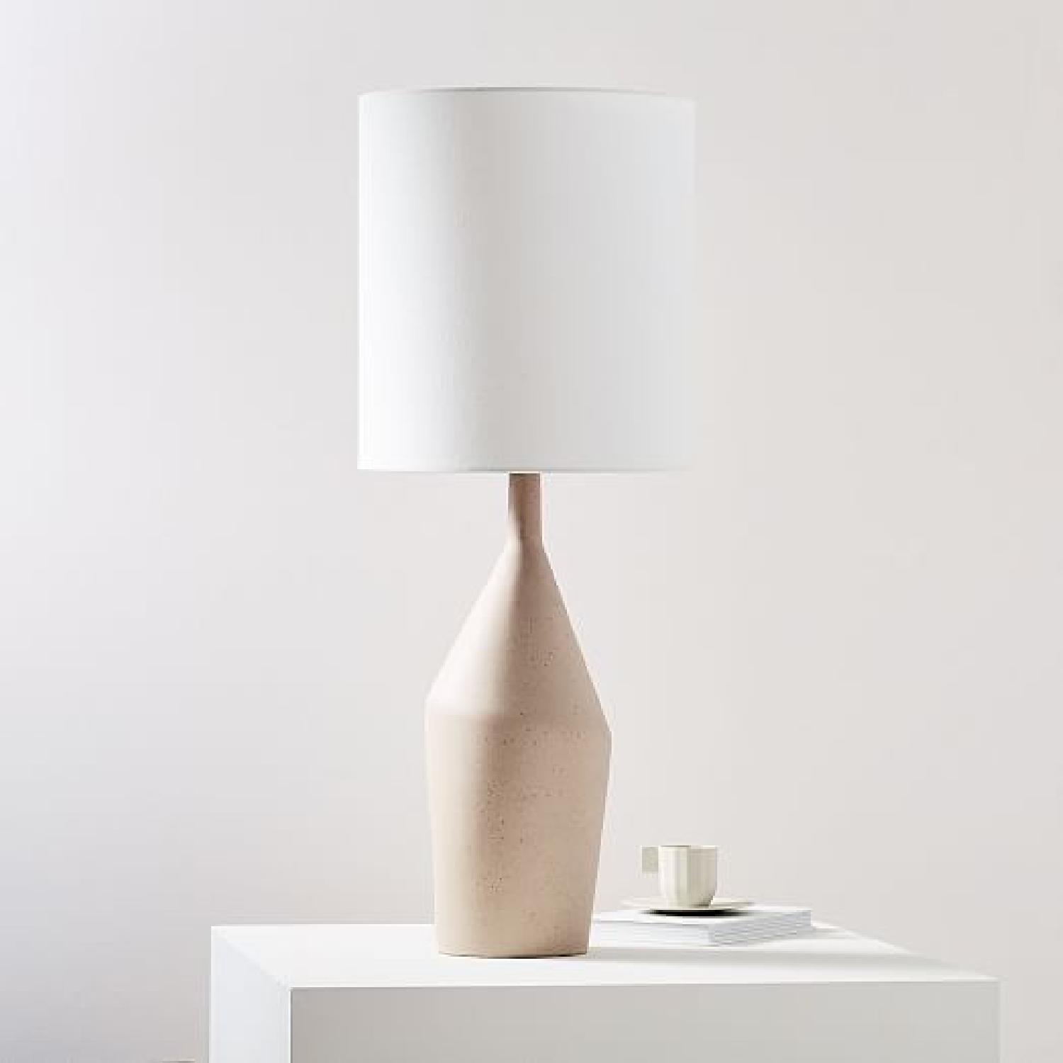 West Elm Tall Asymmetry Table Lamp - image-5