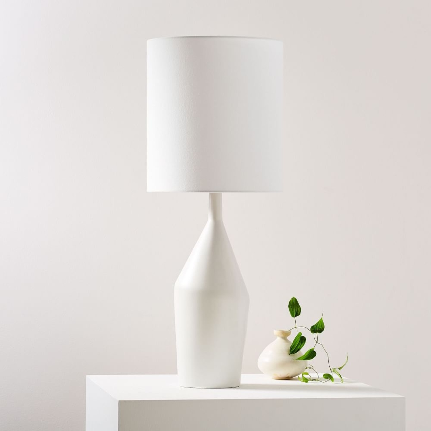 West Elm Tall Asymmetry Table Lamp - image-0