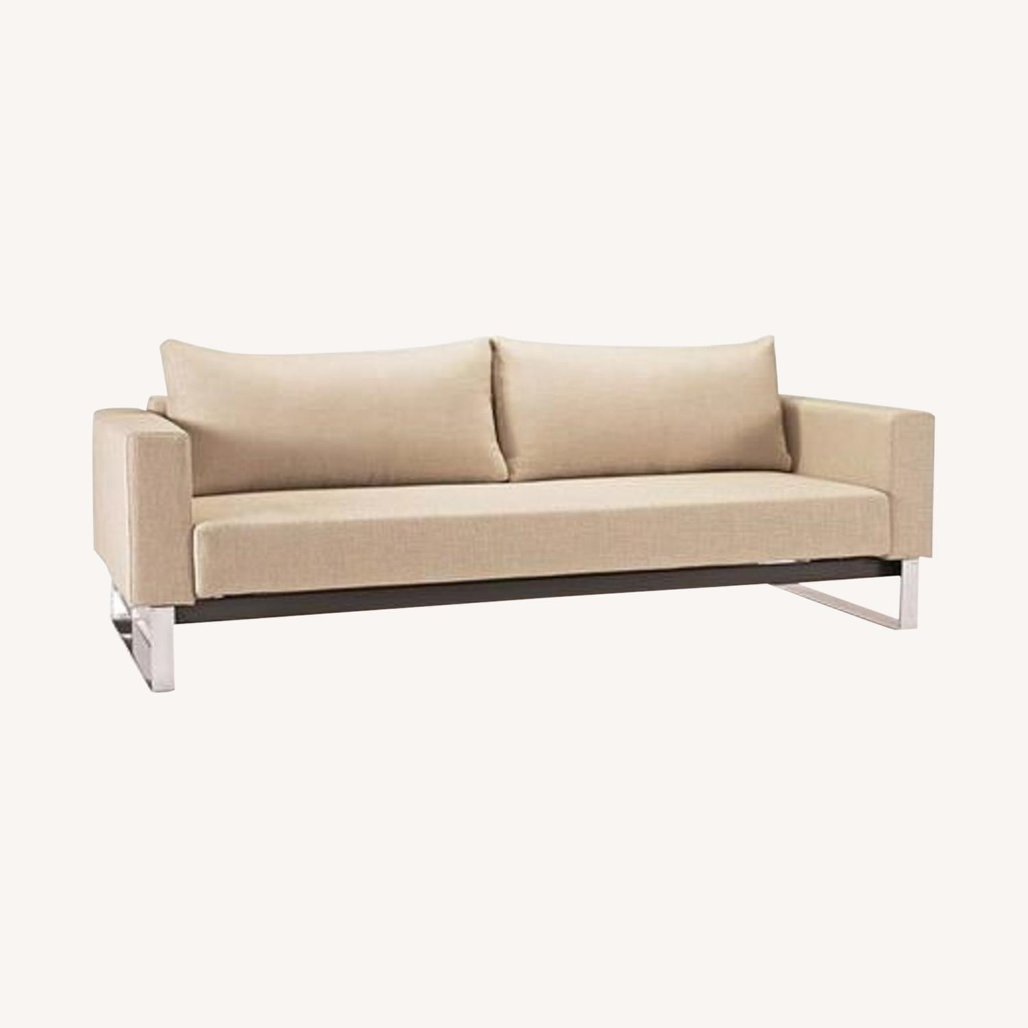 Innovation Cassius Sleek Convertible Sofa (Khaki) - image-0