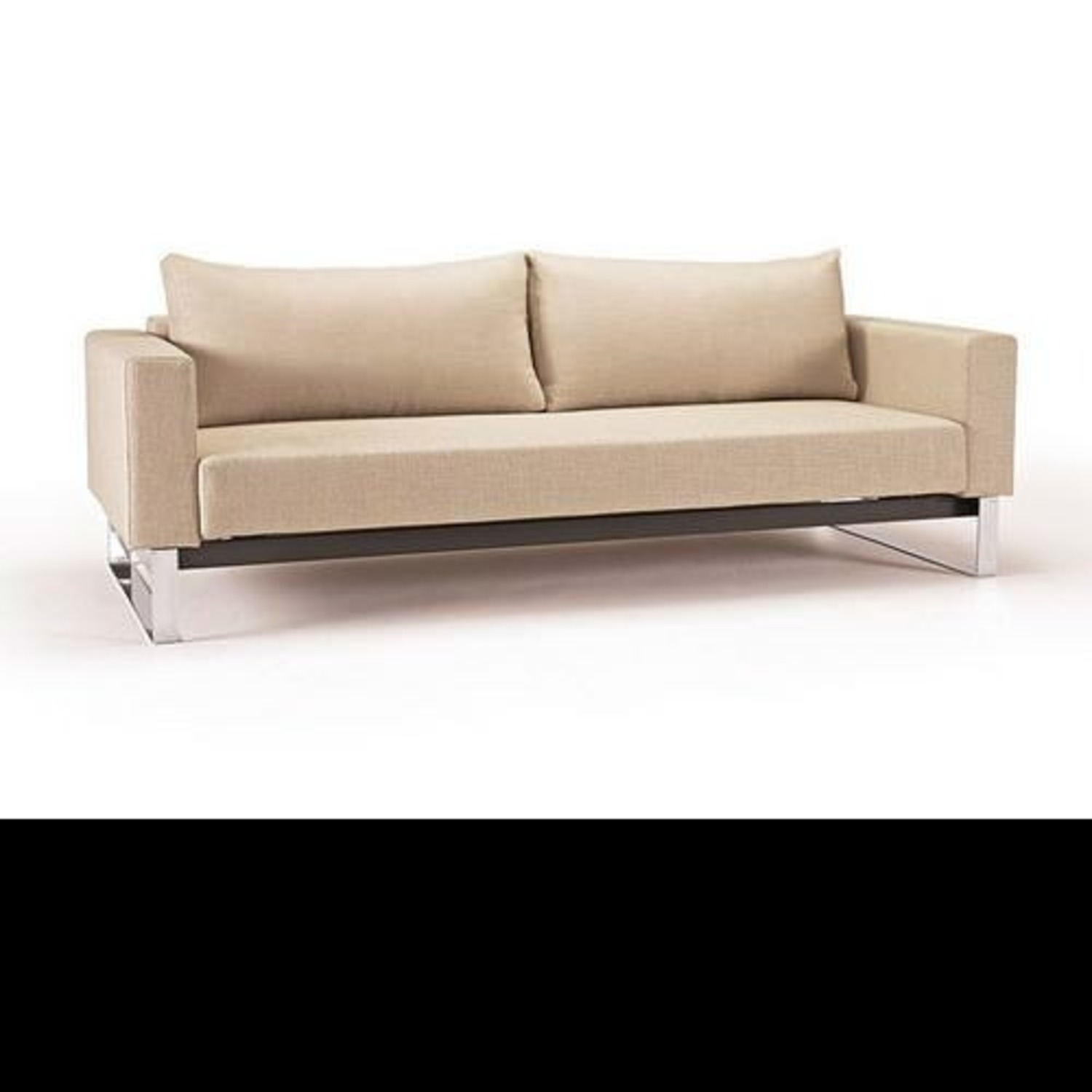 Innovation Cassius Sleek Convertible Sofa (Khaki) - image-1