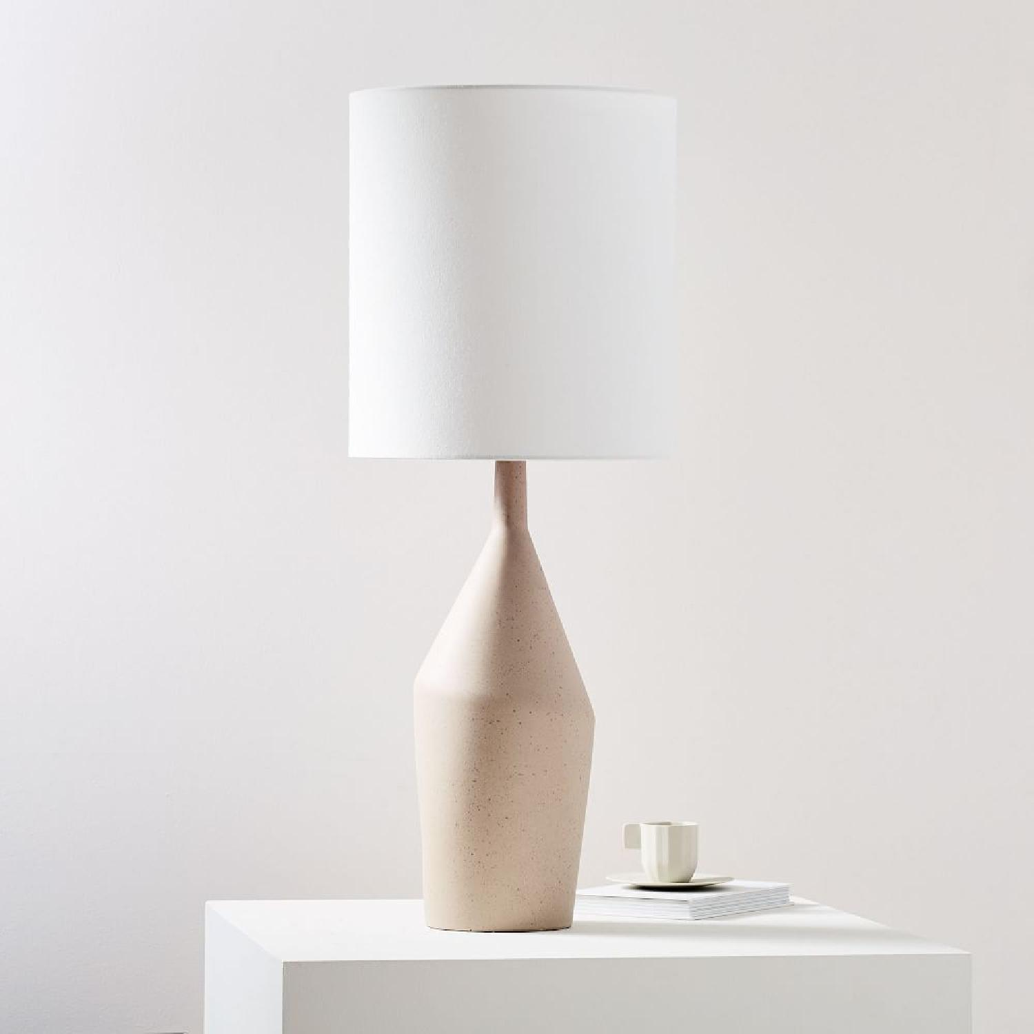 West Elm Asymmetry Tall Table Lamp - image-7
