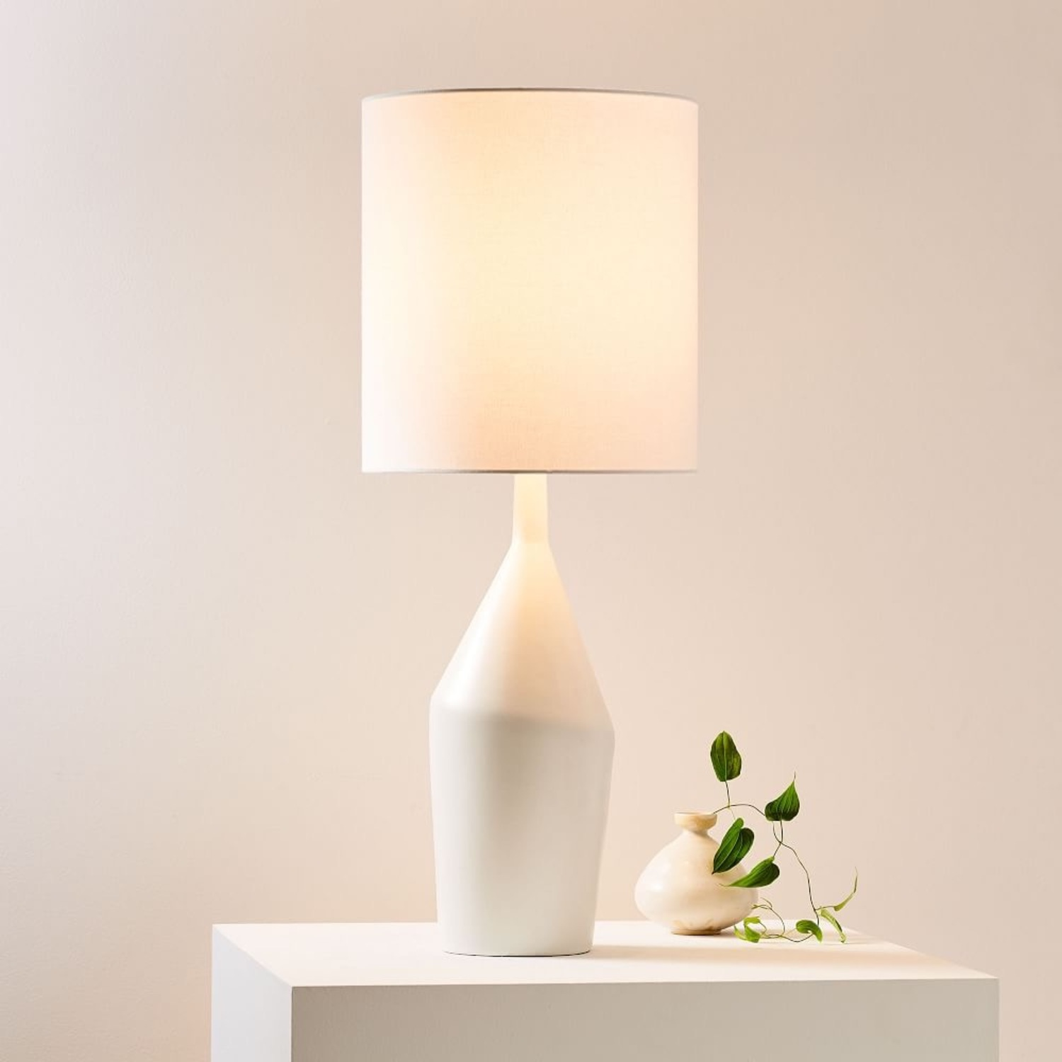 West Elm Asymmetry Tall Table Lamp - image-0