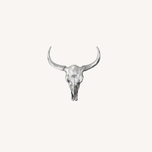 Used Z Gallerie Faux Longhorn Wall Hanging for sale on AptDeco