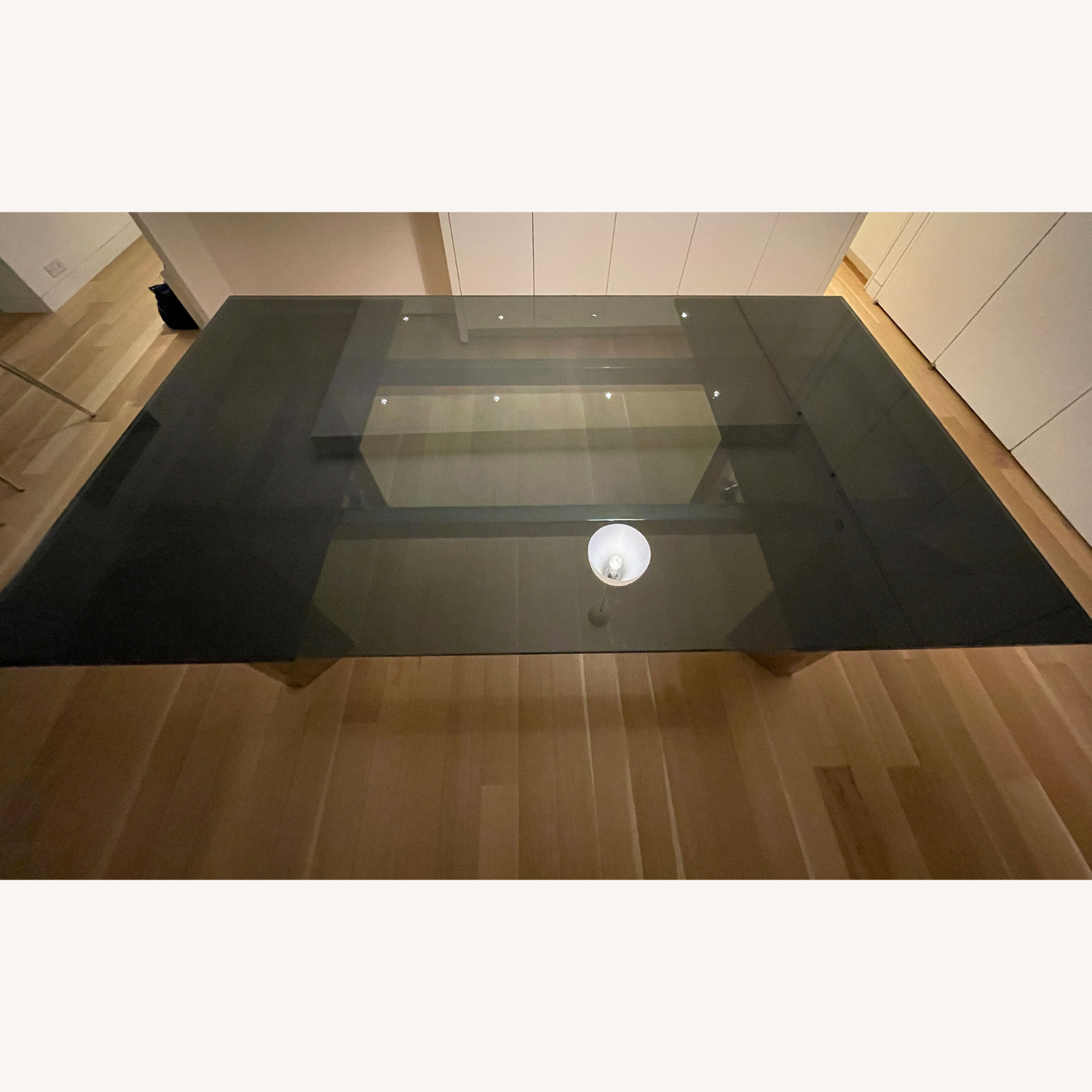 Callagaris Glass Extension Dining Table - image-1