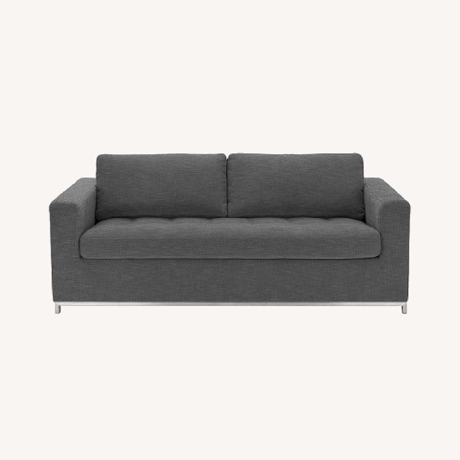 Article Pull Out Sofa (Twilight Grey) - image-0