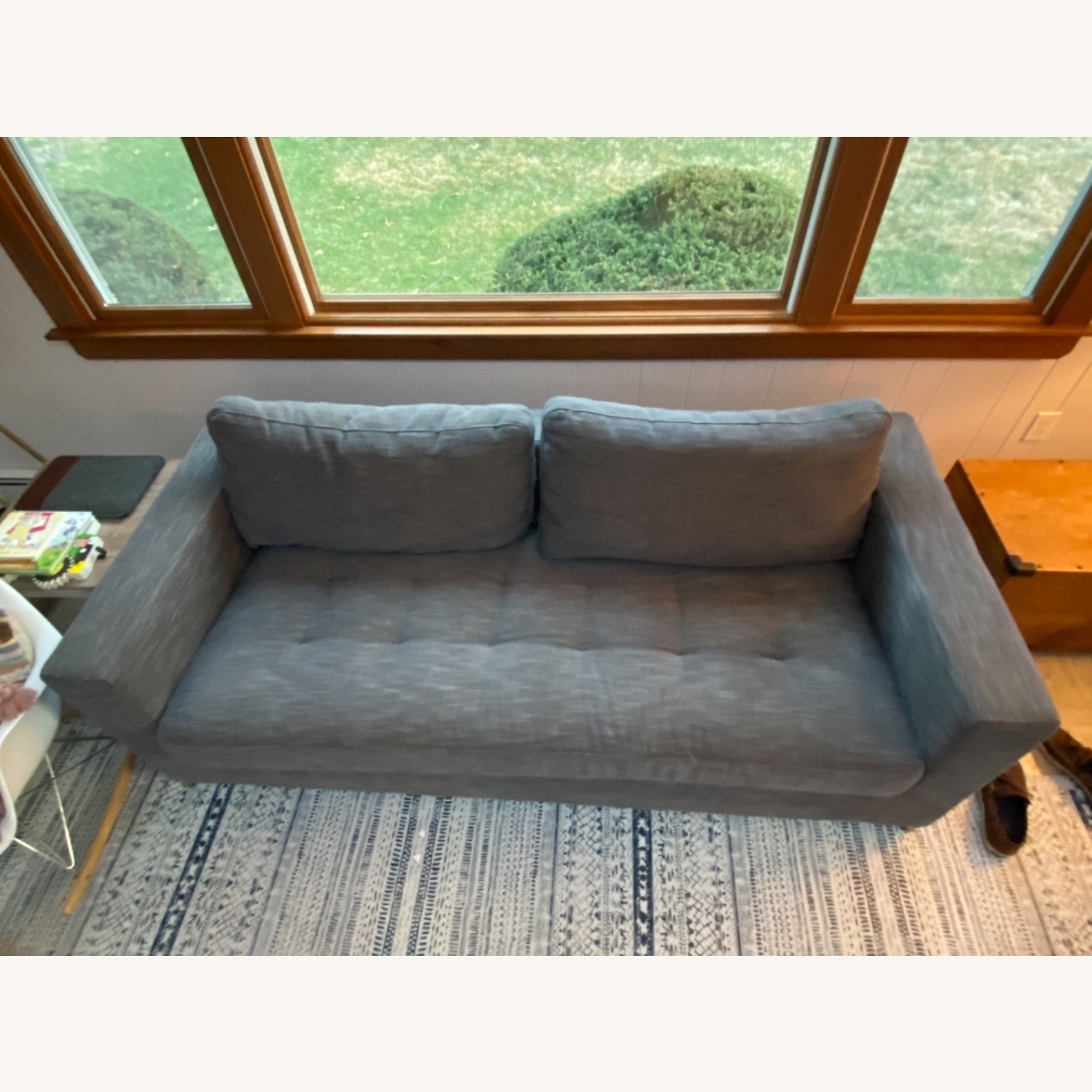 Article Pull Out Sofa (Twilight Grey) - image-1