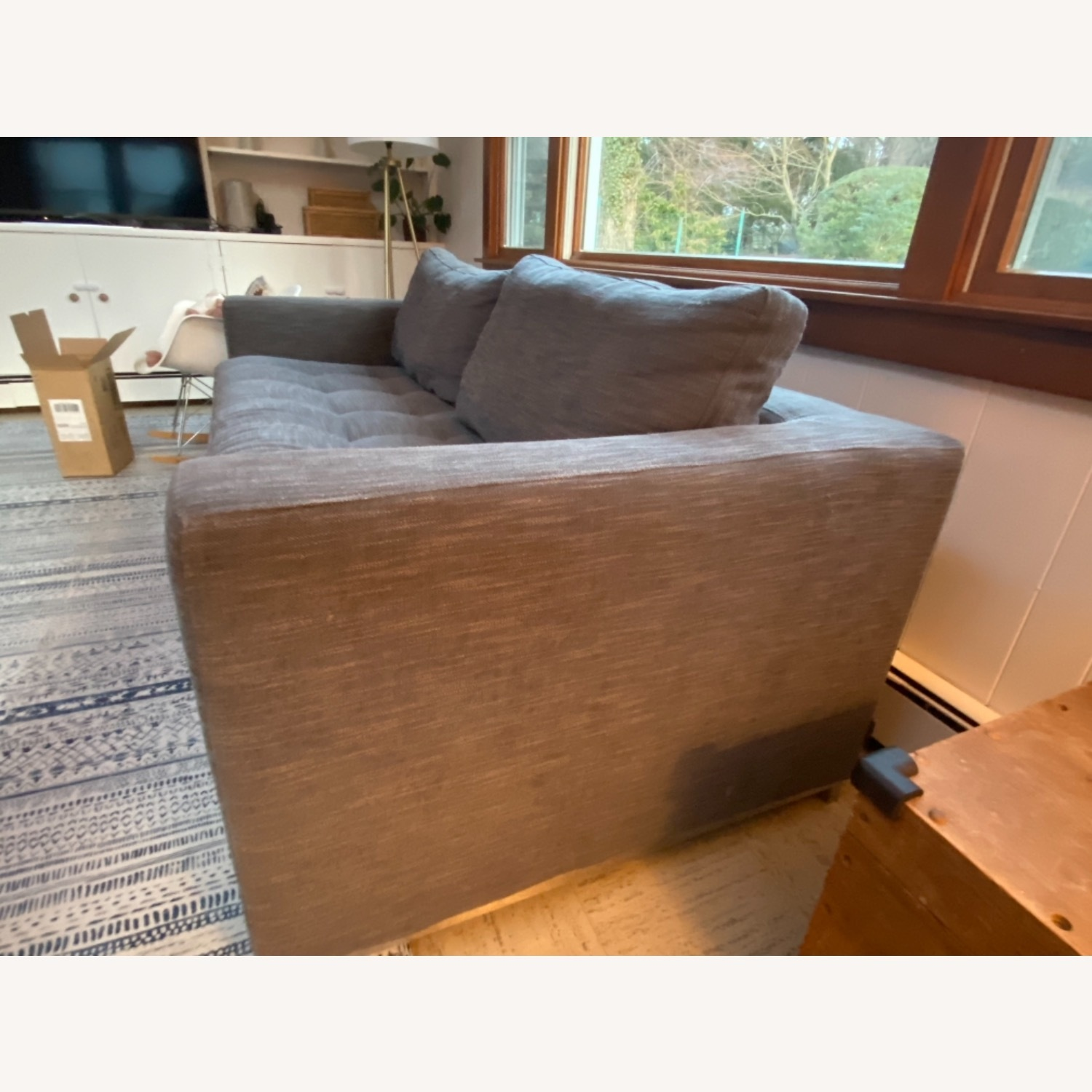 Article Pull Out Sofa (Twilight Grey) - image-3