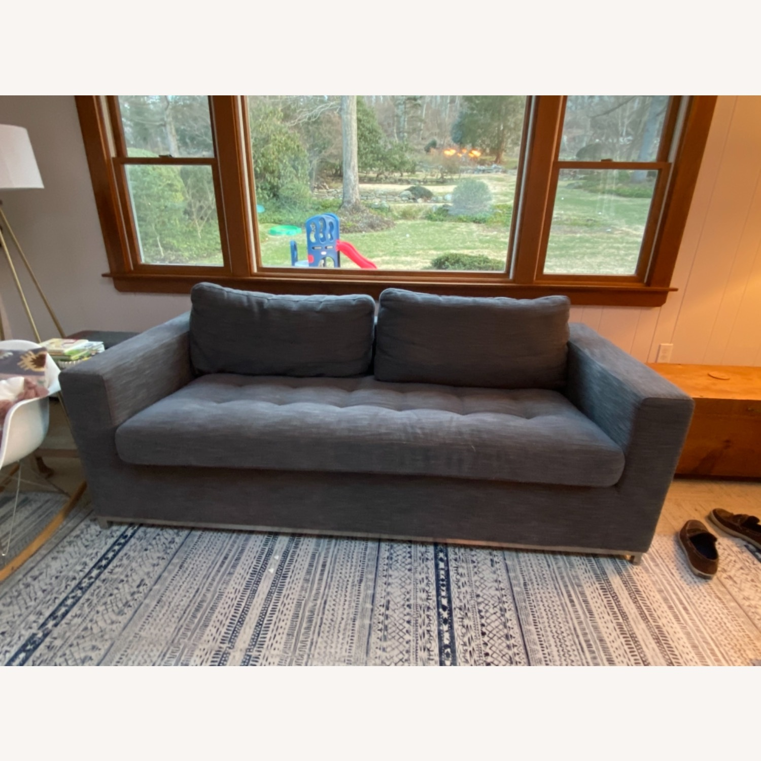 Article Pull Out Sofa (Twilight Grey) - image-2