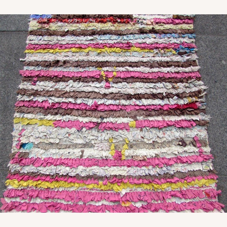 Handmade vintage Moroccan Berber rug - image-6